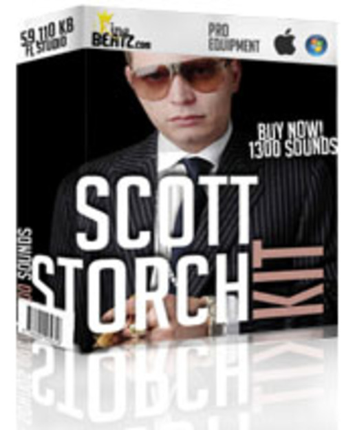 Product picture Inspired Scott Storch Sound/Drum Kit