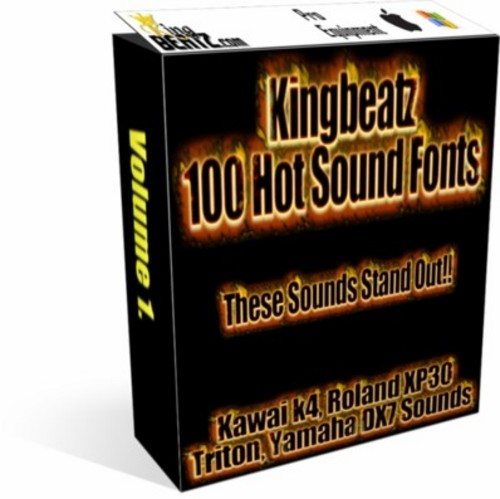 Product picture Kingbeatz 100 Soundfonts